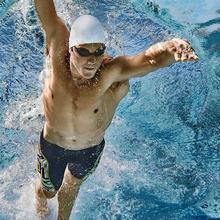 Силиконовая шапочка для купания водостойкая шапочка для бассейна для взрослых УФ защитная одежда для плавания, шапочки для купания подходит для мужчин и женщин золотой
