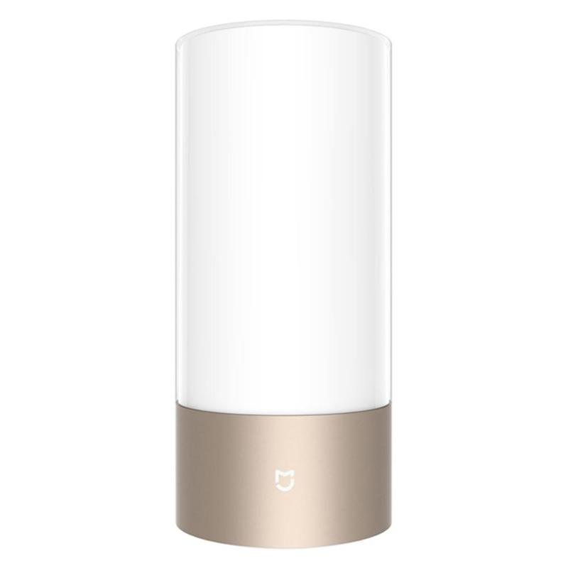 Adroit Xiaomi Mi Home Mijia Smart Bedside Lamp Bluetooth Wifi Connection Touch Smart Night Light Touch Panel App Control Rgbw Light