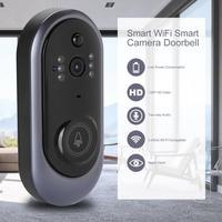 HD720P Smart Wireless WiFi HD Smart Camera Doorbell IR Video Intercom Doorphone for Home Security support SD card 8G/16G/32G New