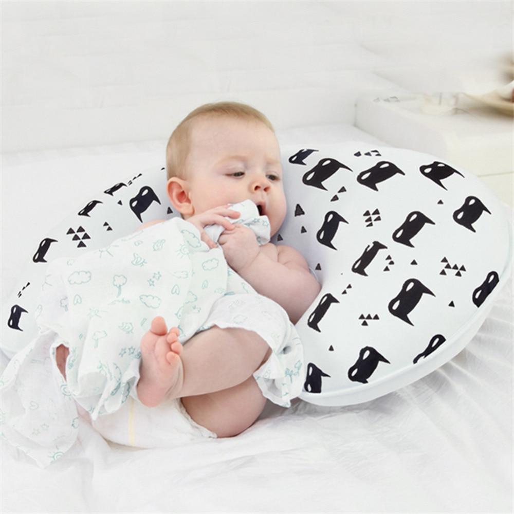 1 St Babyvoeding Kussen U-vormige Newbron Katoen Borstvoeding Kussen Kussen Voorkom Platte Kop Kindje Kussen Wholeasle # Tc