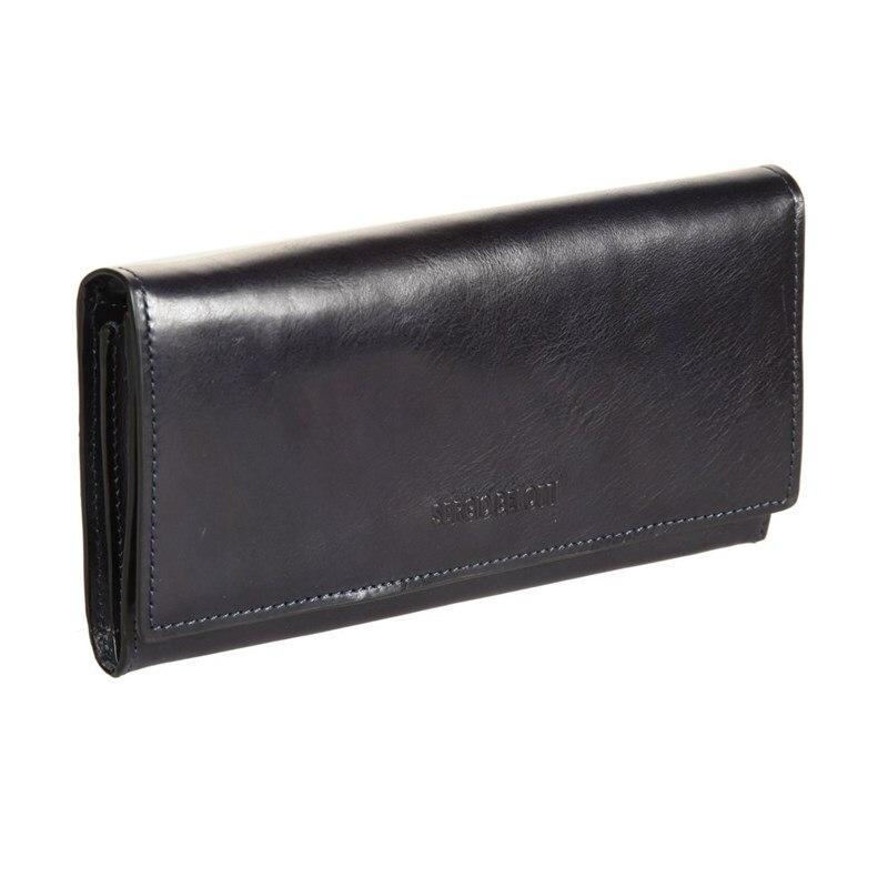 Wallets SergioBelotti 3592 IRIDO navy new fashion design pu leather men wallets card holder long wallet portable cash purses casual standard wallets male clutch bag