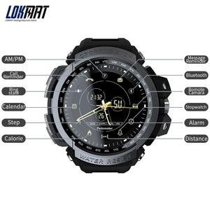 Image 3 - LOKMAT SmartWatch 스포츠 보수계 블루투스 50M 방수 정보 알림 디지털 남성 스마트 워치 Ios 및 안 드 로이드에 대 한
