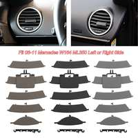 New Arrival Car Front AC A/C Heater Air Vent Grill Left/Right Side Plastic Fit for Mercedes W164 ML350 2006-2011