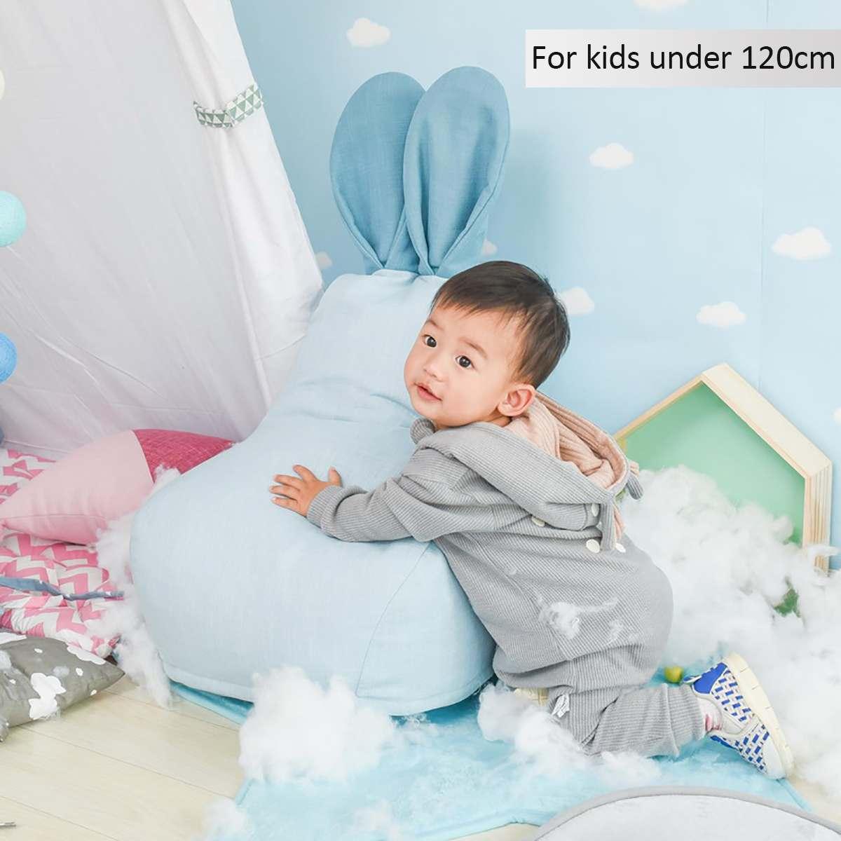 Avec remplissage bébé nordique Pouf chaise Pouf enfants canapé bébé siège oreiller Portable chaises pour bébé infantile chambre décor enfants jouets