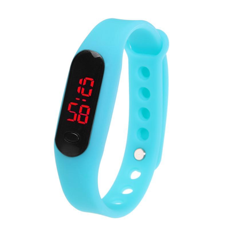 Fashion Sport Watch LED Display Electronic Digital Watch Ladies Unisex Bracelet Watch Men clock Montre Homme Relogio Feminino 4