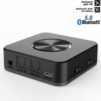 HAOBA Bluetooth Transmitter Receiver Wireless Audio Adapter Bluetooth Receiver 3.5mm Support Lossless Bluetooth Receiver