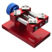 Herramienta de eliminación deflector de bisel rojo, herramienta de banco de trabajo de apertura trasera, herramienta de reparación de eliminación de deflector de reloj nuevo