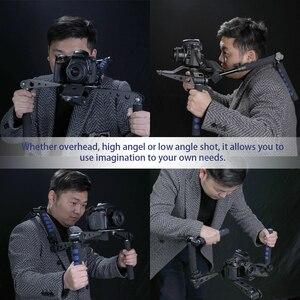 Image 4 - DSLR Rig Movie Kit Universal multifuncional Handheld Gimbal DSLR sistema de cine estabilizador con soporte para cámara