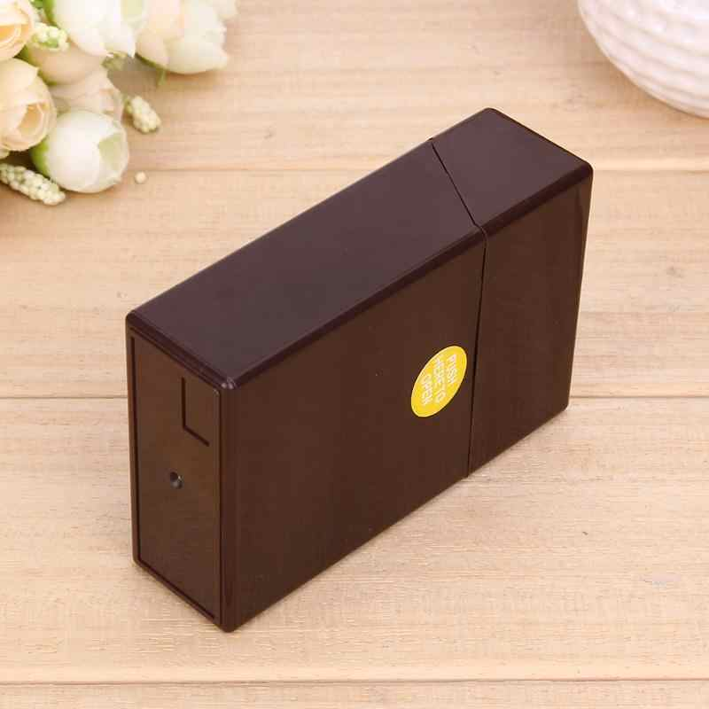 1Pcs Plastic Sigaren Sigaret Case Box Holder Container Gift Box Pocket Box Holder Opslag Roken Accessoires 10*6*3cm 5 Kleuren