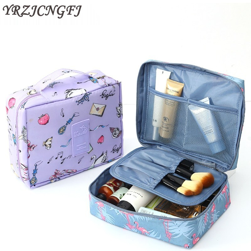 Fashion New Portable Women Makeup Bag High Quality Waterproof Travel Organizer For Toiletries Toiletry Kit Girl's Best Gift
