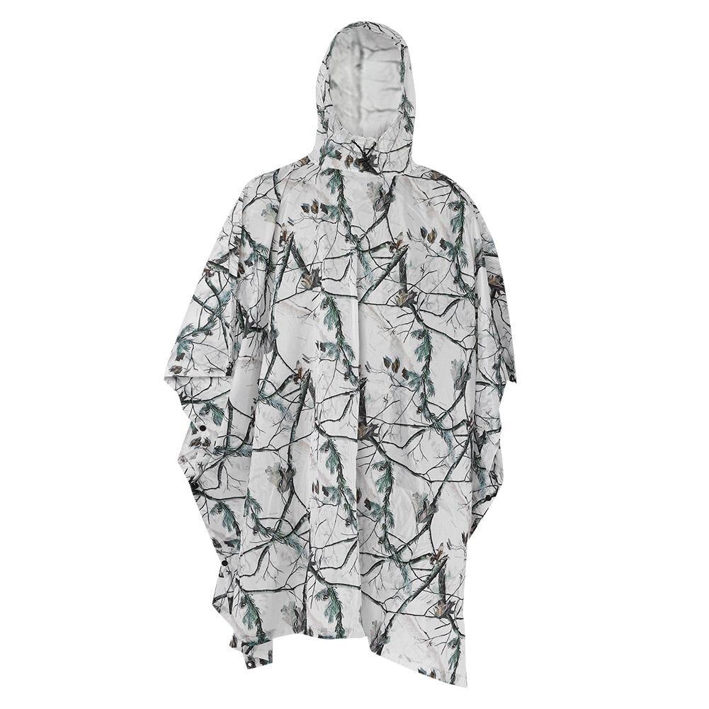 Brillante Mimetiche Da Caccia Neve Camuffamento Bionico Caccia Tattico Abbigliamento Pesca Fotografia Selvaggio Ghillie Suit Cappotto Di Pioggia