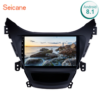 Seicane GPS Car Radio Stereo For 2011 2012 2013 Hyundai Elantra 9 inch 2DIN Android 8.1 Multimedia Player Support 3G Wifi SWC