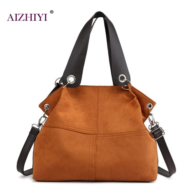 Top-handle Bags Women Shoulder Bag Female Large Tote Soft Corduroy Leather Crossbody Messenger Bag For Women 2019 Bolsa Feminina