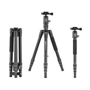 Image 2 - Kingjoy G22+G00 Portable Camera Tripod Monopod Travel With 360 Degree Ball Head For Canon Sony Nikon Dslr Ildc Cameras