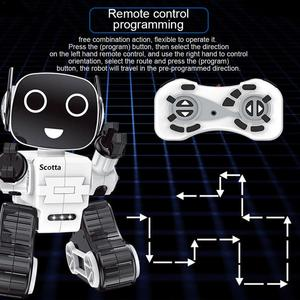Image 5 - Cute Remote Control Intelligent Robot Toy Voice Activated Interactive Recording Sing Dance Storytelling RC Robot Toy Kids Gift