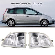 Car interior lighting Cafoucs Specchietto retrovisore Auto Turn Luce di Segnale per Ford Focus C-MAX 2003-2013 Luce di Striscia del LED