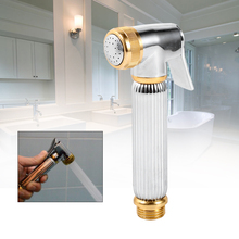 Brass Hand-held Bidet Sprayer Toilet Spray Shower Head Nozzle Sprinkler Wall Mounted Bidet Faucet Toilet Sprayer Tap bidets все цены