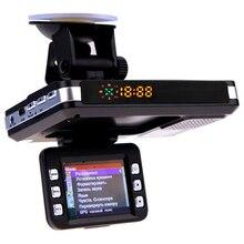 NUOVO-3 In 1 Macchina Fotografica Dell'automobile Dvr Gps Rivelatore Del Radar di Avvertimento Video Recorder Registrazione del Ciclo del Precipitare Della Macchina Fotografica del Registratore di Guida