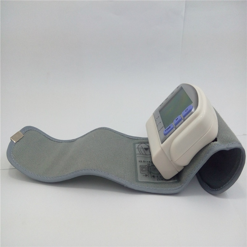 Automatic Blood Measurement Electronic Monitor Meter Pressure Care Sphygmomanometer in Toiletry Kits from Beauty Health