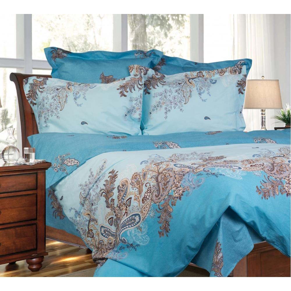 Bedding Set SAILID B-140 cover set linings duvet cover bed sheet pillowcases TmallTS all over florals print duvet cover set
