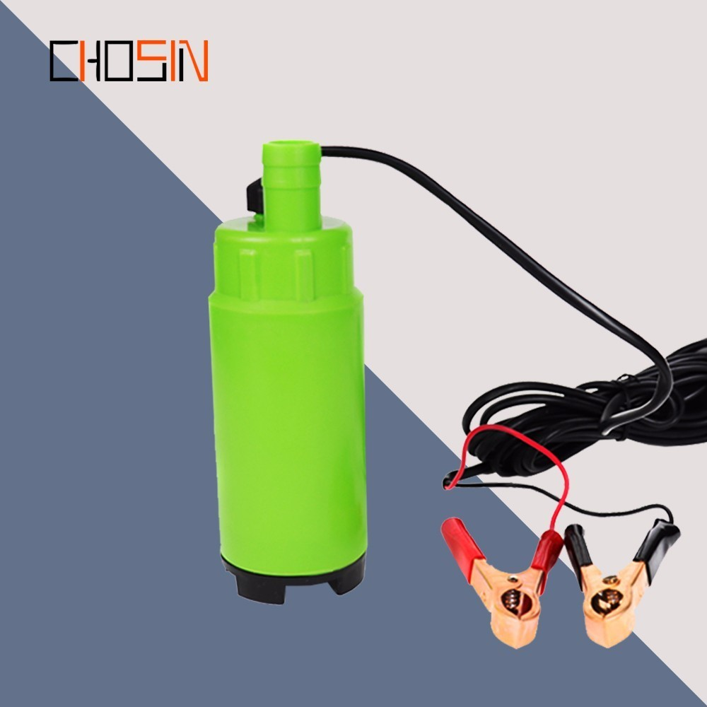 DC 12V/24V 30L/min 19mm Hose,Plastic Submersible Electric Pump For Diesel/oil/water/fuel Transfer,with Switch,12 24 V Volt