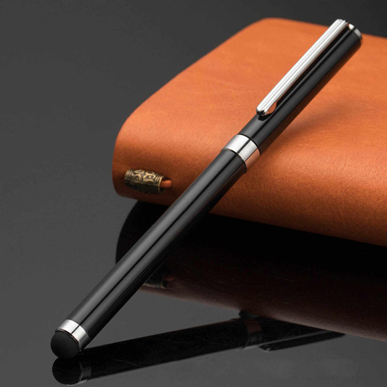 2 в 1 Многофункциональный сенсорный экран Стилус ручки для iPhone iPad huawei Xiaomi samsung смартфонов планшеты черный