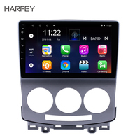 Harfey 9 Quad core Android 8.1/7.1 Car Radio Bluetooth GPS Navigation For 2005 2006 2007 2008 2009 2010 Old Mazda 5 With WIFI