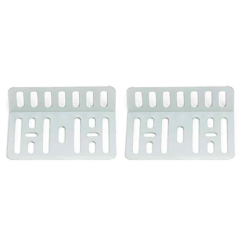 Arandela de soporte para coche estéreo MP5 + juego de tornillos para DVD/CD de 2DIN MP5 soportes de accesorios para coche