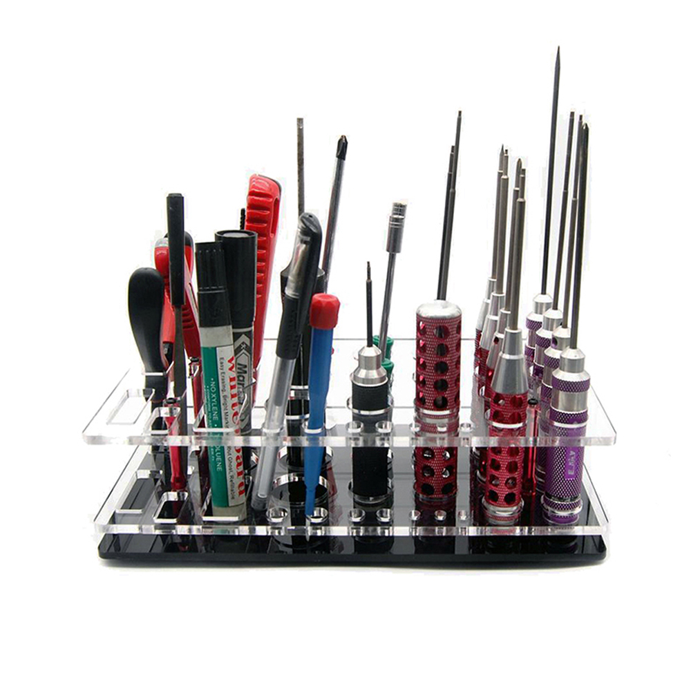 Collection Here Rc Screwdriver Shelf Hex Screwdriver Tool Kit Stand Holder Display Tray Fpv Tool Storage Rack Toys & Hobbies Remote Control Toys