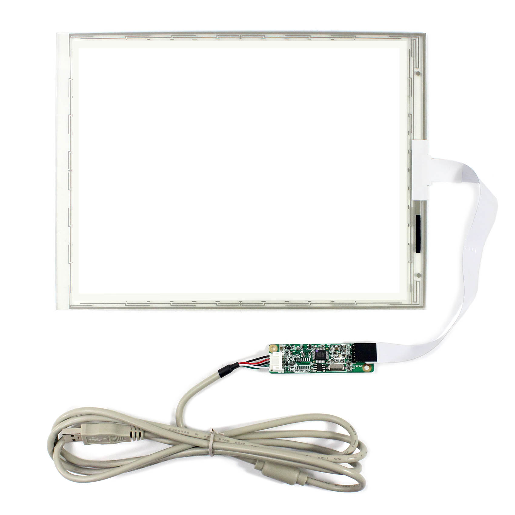 10,4 Inch 5-draht Touch Panel 216,7x164,5mm Controller Karte Mit 5-draht Usb Controller Karte