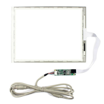 10.4inch 5-wire Touch Panel  216.7x164.5mm Controller Card With 5-Wire USB Controller Card