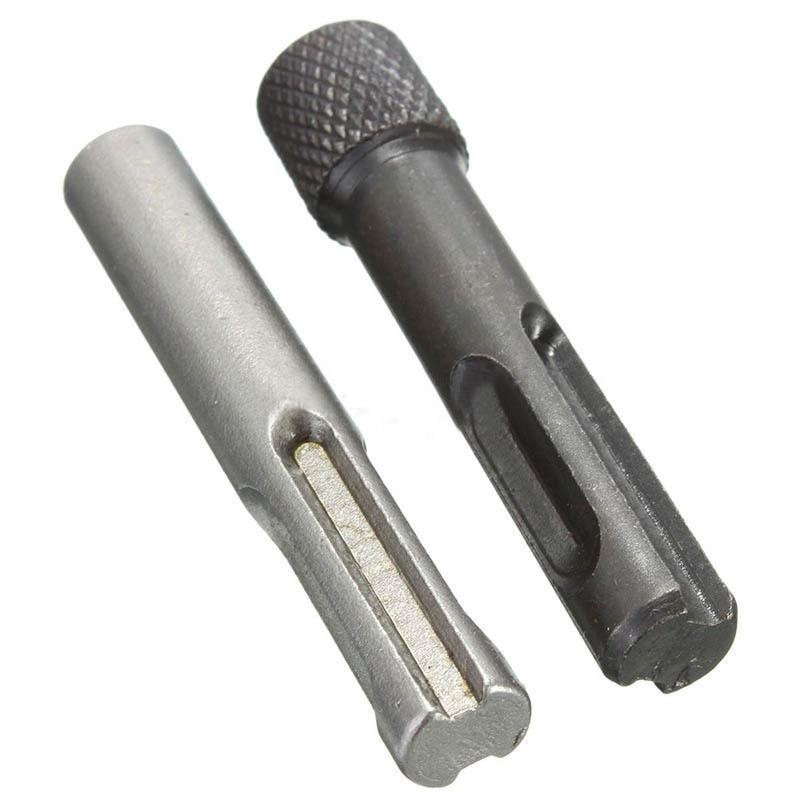 Werkzeuge Hlzs-2pcs 1/4in Hex Schaft Bohrer Chuck Adapter Sds Konverter Adapter Mutter Auswirkungen Fahrer Set Für Bohren Werkzeuge Elegant Im Geruch