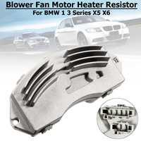 For BMW 1 3 Series X5 X6 E87 E81 E88 E91 E90 E92 #64119146765 #64116927090 Blower Fan Motor Heater Resistor Speed Controller