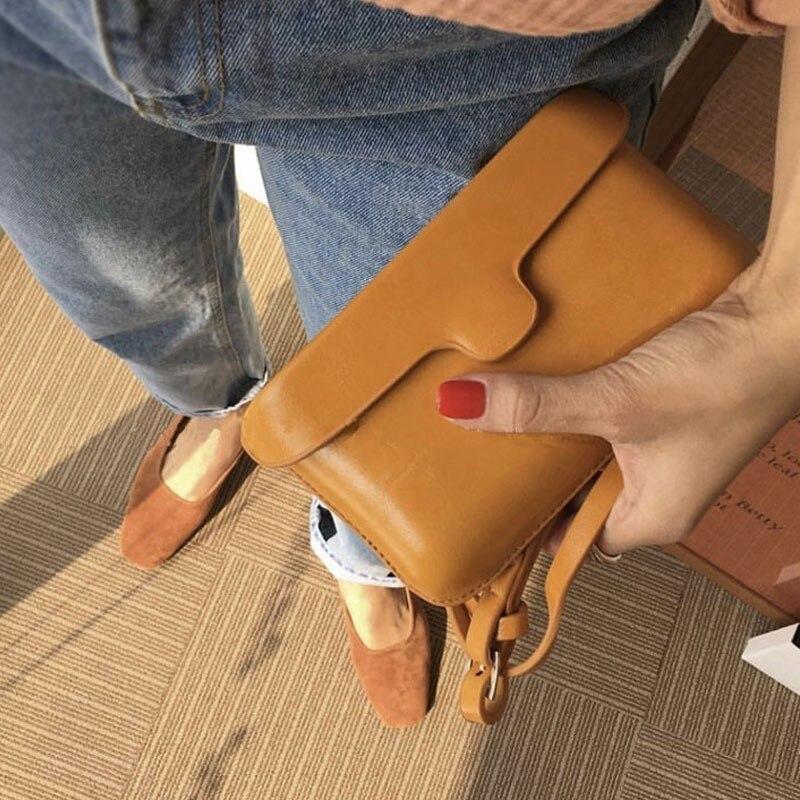 2019 Bags Women Fashion Simple Commute Handbag Red Summer New Small Square Bag Wild Shoulder Messenger Bag Multi-function OC334