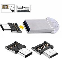 Multi-functional USB Card reader Micro OTG Adapter Supported for Android and Type-C Enabled smartphone NK-Shopping