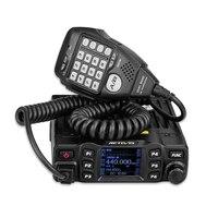 RETEVIS RT95 Автомобильная радиоантенна двухканальные рации TFT ЖК дисплей 25 Вт УКВ двухдиапазонный двухстороннее радио Амадор Ham трансивер + MIC