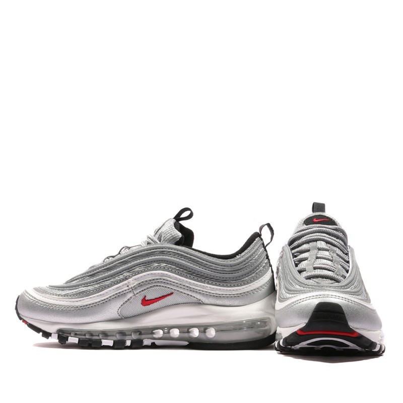 US $112.05 55% OFF|Original Authentic Nike Air Max 97 OG QS Men's Running Shoes Sport Outdoor Breatheable Sneakers Good Quality # 885691 001 in