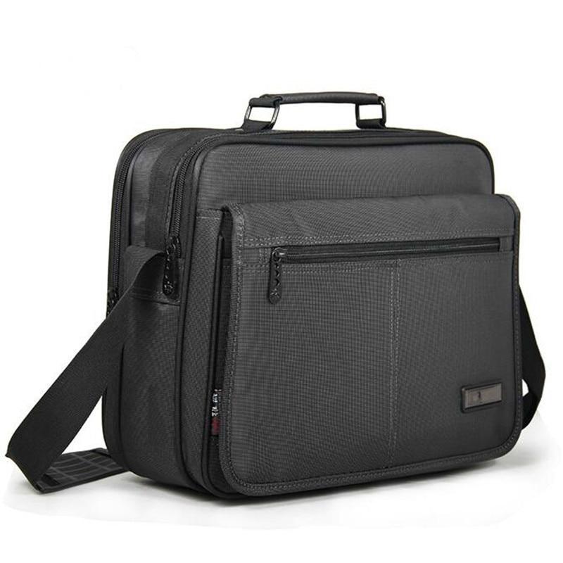 OYIXINGER бизнес для мужчин's портфели мужские сумки для ноутбуков одежда высшего качества водостойкий прочный Оксфорд 12 13 14 15 дюймов тетрадь су...