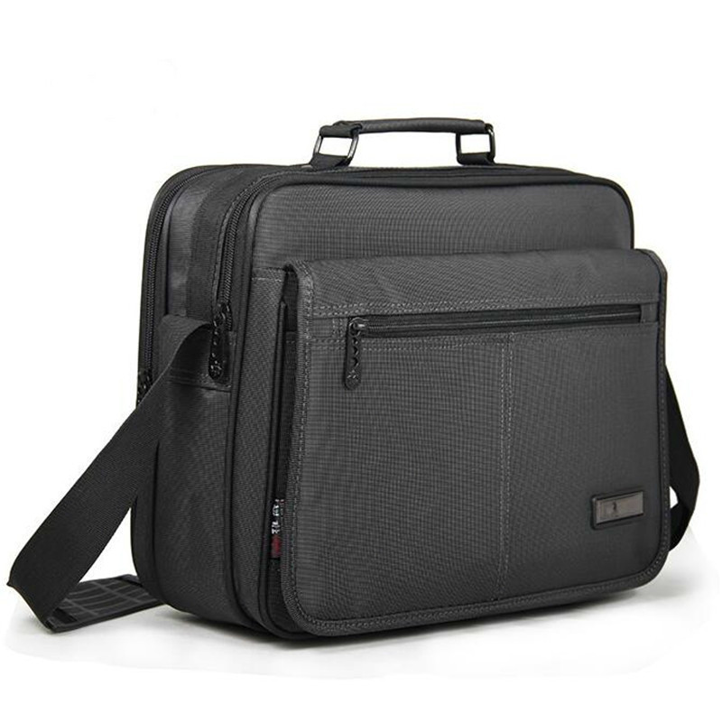 VOLASSS Business Men's Briefcase Men Laptop Bags Top Quality Waterproof Durable Oxford 11 12 13 14 Inch Notebook Computer Bag