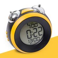 Electronic Led Bedside Snooze Alarm Clock Table Luminous Multifunction Battery Operated Wake Up