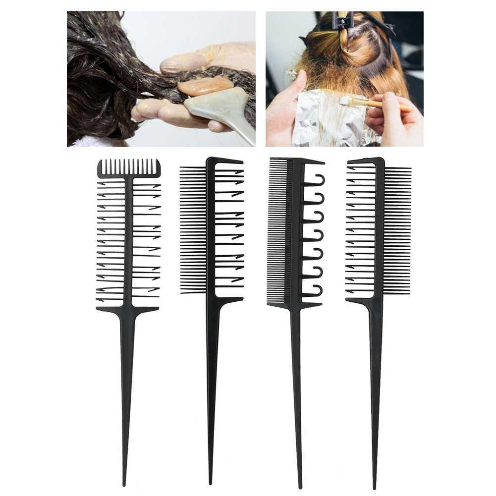 Профессиональная парикмахерская расческа набор Расческа для окрашивания волос выгуливающая изюминка салонный парикмахерский инструмент a