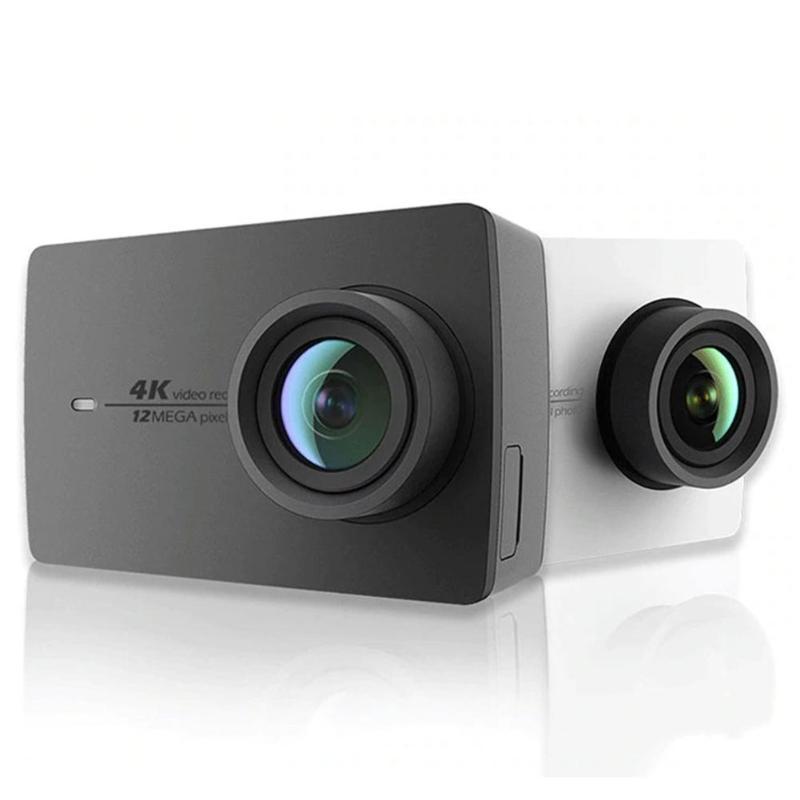 Caméra d'action d'origine Xiaomi YI 4 K Ambarella A9SE75 bras 12MP CMOS 2.19