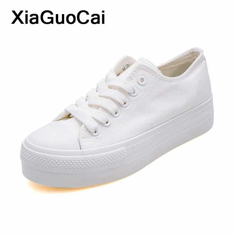 04199dfb27 Detail Feedback Questions about White Woman Casual Shoes 2019 Spring ...