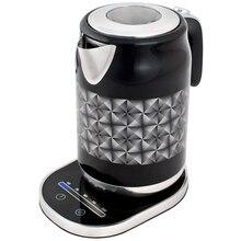 Чайник электрический GEMLUX GL-EK-771B (электронное управление, объем резервуара 1,7 л, закрытый ТЭН, рабочая температура 60-100оС, функция поддержания температуры, функция автоотключения)