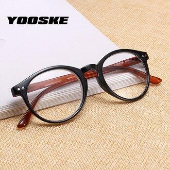 5eede5757d YOOSKE gafas de lectura irrompibles los hombres y las mujeres ultraligero  Anti fatiga miopía gafas + 1,0, 2,0, 3,0, ...