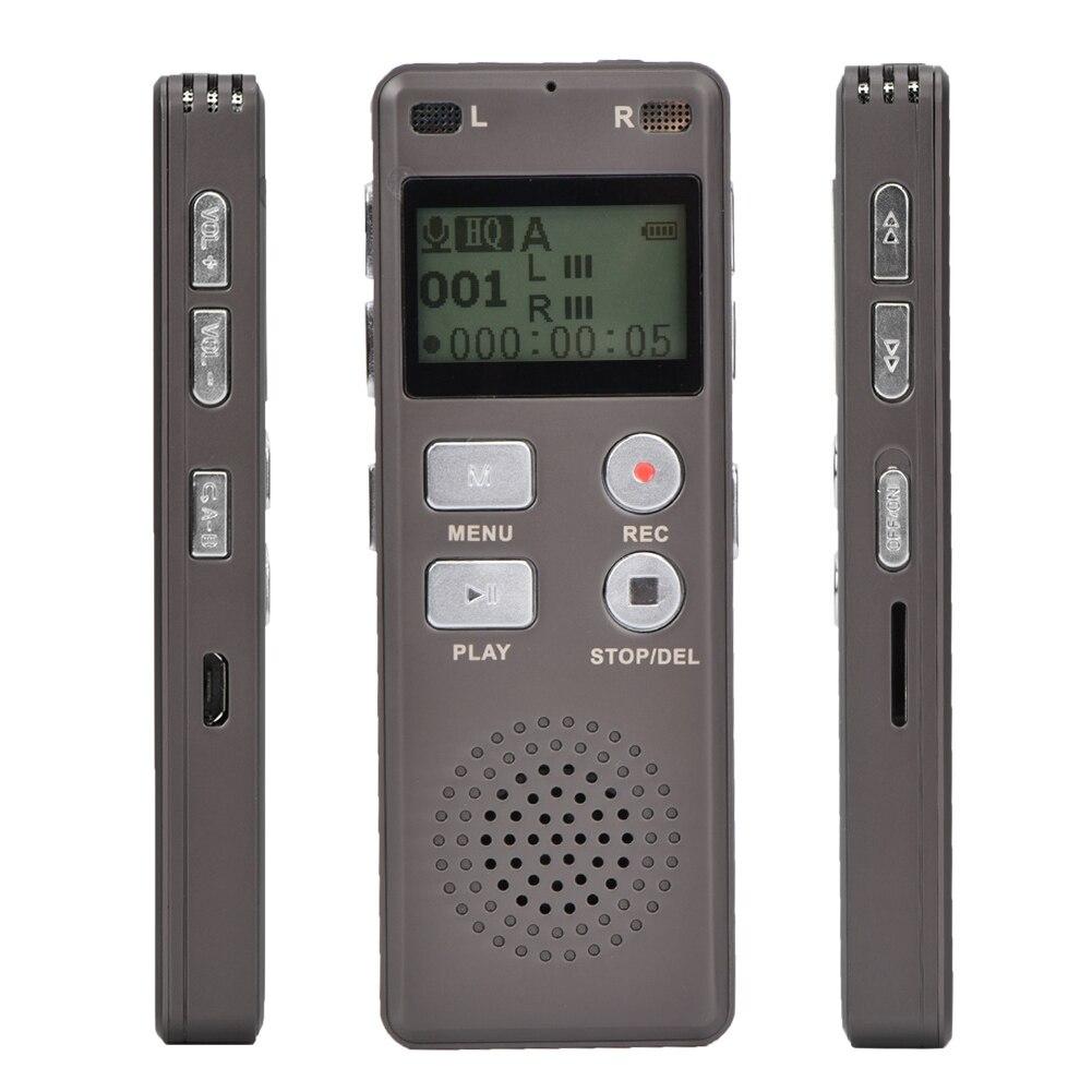Tout nouveau stylo d'enregistrement enregistreur numérique réduction de bruit Type enregistreurs stylos d'enregistrement 8G accessoires électriques 2019