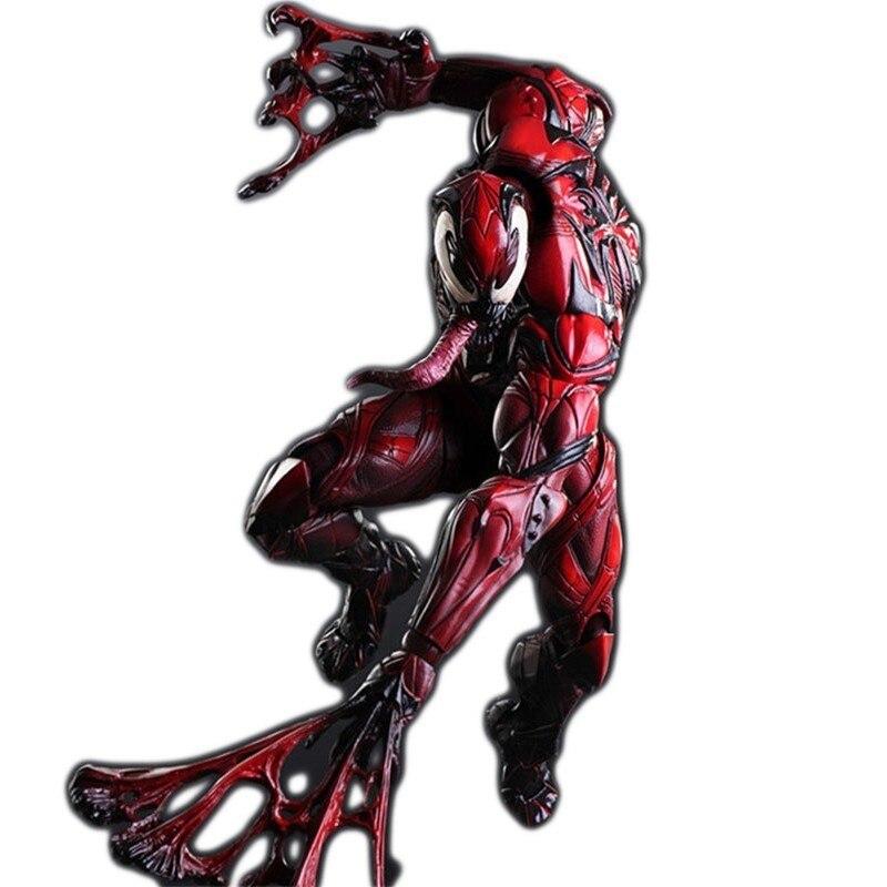 Marvel légendes Avengers 2019 nouveau 23cm pvc venin mortel gardien massacre fer homme figurines action film mobile modèle Figma poupée