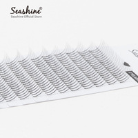 150 trays 3D W Volume FANS Eyelash Extensions 3 Clusters Russian Material Individual Lashes Fans Lash Classic Lash Free Shipping