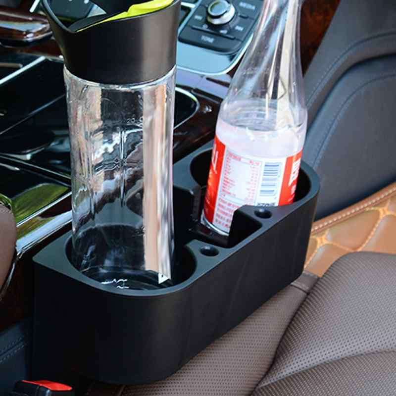 Car Auto Cup Holder Vehicle Seat Cup Cell Phone Hold Universal Portable Multifunction Car Interior Black Car Styling Stand