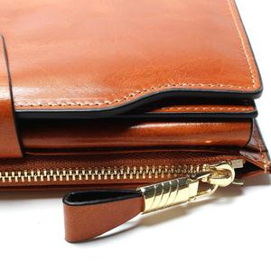 Image 5 - 2020 New Design Fashion Multifunctional Purse Genuine Leather Wallet Women Long Style Cowhide Purse Wholesale And Retail Bag